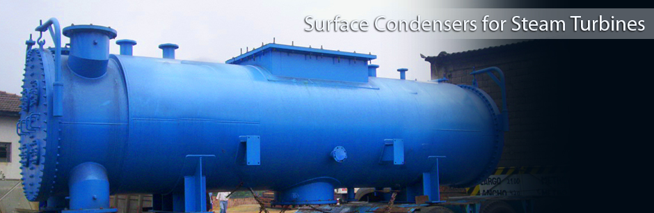 Surface Condensers for Steam Turbines
