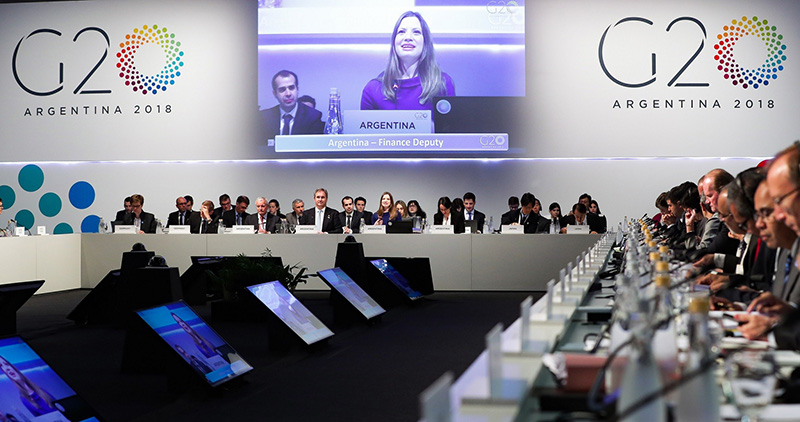 Comunicado final do G20 defende comércio internacional